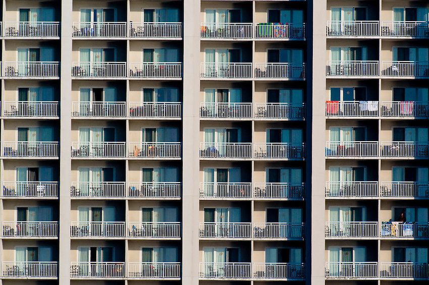 Ocean city hotel balconies keith sherwood photography for Hotels with balconies