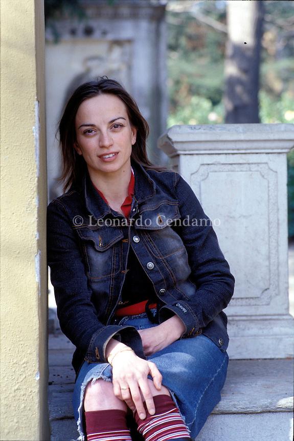 2003: PAOLA MORDIGLIA, JOURNALIST AND WRITER  © Leonardo Cendamo