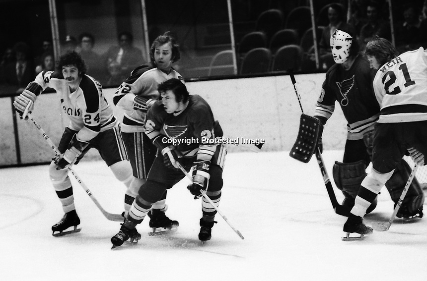 California Golden Seals vs St. Louis Blues 1972.<br />