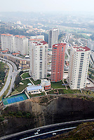 Aerial photographs of the  Bosque Real real estate development in Mexico City. 21-11-07