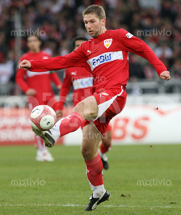 Fussball Bundesliga 21. Bundesliga  VfB Stuttgart 4-1 SV Werder Bremen Thomas Hitzlsperger (VfB) am Ball