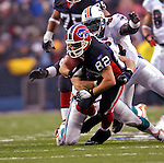 17 December 2006: Buffalo Bills wide receiver Josh Reed (82)  in action against the Miami Dolphins at Ralph Wilson Stadium in Orchard Park, New York. The Bills defeated the Dolphins 21-0.. .Mandatory Photo Credit: Ed Wolfstein Photo<br />