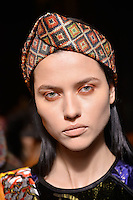 FEB 11 DESIGUAL backstage at New York Fashion Week