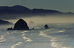 Cannon Beach with Haystack Rock, Oregon
