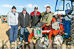 John McCarthy, Ballyheigue,  Tom Wharton, killarney south kerry ploughing, Tony Wharton, killarney south kerry ploughing,  Tom Leslie, killarney south kerry ploughin at the Abbeydorney Ploughing Match  at Corridan's Farm, Ballysheen on Sunday