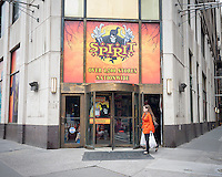 A Spirit Halloween Superstore pop-up in New York on Sunday, October 2, 2016. According to the National Retail Federation consumers will spend $8.4 billion on Halloween purchases this year, a record high in the 11 year survey.  (© Richard B. Levine)