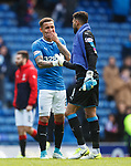 Dont lip read this... James Tavernier and Wes Foderingham
