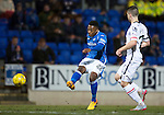 St Johnstone v Inverness Caley Thistle&hellip;09.03.16  SPFL McDiarmid Park, Perth<br />Darnell Fisher shoots over the bar<br />Picture by Graeme Hart.<br />Copyright Perthshire Picture Agency<br />Tel: 01738 623350  Mobile: 07990 594431