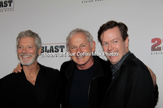 """Premiere of """"23 Blast"""" - Vision Comes From Within"""" - a film by Dylan Baker starring Stephan Lang on October 20, 2014 at Regal Cinemas E-Walk Theatre, New York City. (Photo by Sue Coflin/Max Photos)"""