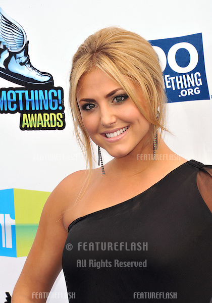 Cassie Scerbo at the 2012 Do Something Awards at Barker Hangar. Santa Monica Airport..August 19, 2012  Santa Monica, CA.Picture: Paul Smith / Featureflash