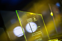Picture by Allan McKenzie/SWpix.com - 07/03/2017 - Commercial - Leeds Sports Awards 2017 - First Direct Arena, Leeds, England - Leeds Sports Awards, The Brief, branding, trophies.