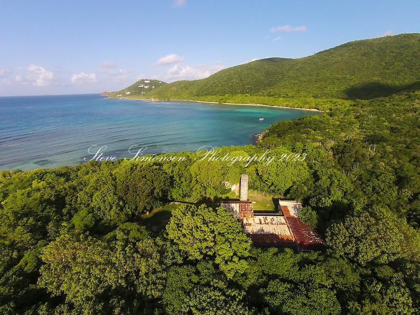 Reef Bay plantation ruins<br /> Virgin Islands National Park<br /> St. John<br /> U.S. Virgin Islands