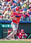 6 March 2016: Washington Nationals infielder Matt Skole in action during a Spring Training pre-season game against the St. Louis Cardinals at Roger Dean Stadium in Jupiter, Florida. The Nationals defeated the Cardinals 5-2 in Grapefruit League play. Mandatory Credit: Ed Wolfstein Photo *** RAW (NEF) Image File Available ***