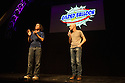 Edinburgh, UK. 31.07.2014.  The Umbilical Brothers perform in the Gilded Balloon press launch,as part of Edinburgh Festival Fringe. The Umbilical Brothers make a return to the Fringe after a nine year absence. Photograph © Jane Hobson.
