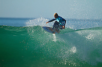 "JEFFREYS BAY, South Africa (Sunday, July 18, 2010) - Jordy Smith (ZAF), 22, has claimed his maiden ASP elite victory, taking out the Billabong Pro Jeffreys Bay over Adam Melling (AUS), 25, in front of a capacity hometown crowd..Event No. 4 of 10 on the 2010 ASP World Tour, the Billabong Pro Jeffreys Bay was nothing but blaring Vuvuzelas and roars from the bluff as these two titans went tit-for-tat in an incredible Final exchange. The young South African proved the victor, dominating from the outset and securing an emotional first win..""This is the best day of my life,"" Smith said. ""The crowd on the beach has been supporting me the last few days and hearing the cheers and the Vuvuzelas just gets me fired up to perform. It feels like they're pushing me along. I couldn't have done it without them."".The most experienced surfer at Jeffreys Bay, Smith left very little to chance in the Final against Melling, opening his account with a blazing 8.90 before backing it up with some scintillating forehand surfing for a 9.03. The combination of scores (17.93 out of a possible 20) proved insurmountable for Melling.  Photo: joliphotos.com"