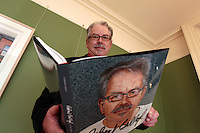 4/11/10 Artist Robert Ballagh at the launch of his new book, Robert Ballagh Citizen Artist at the Pearse Centre on Pearse Street, Dublin. Picture:Arthur Carron/Collins
