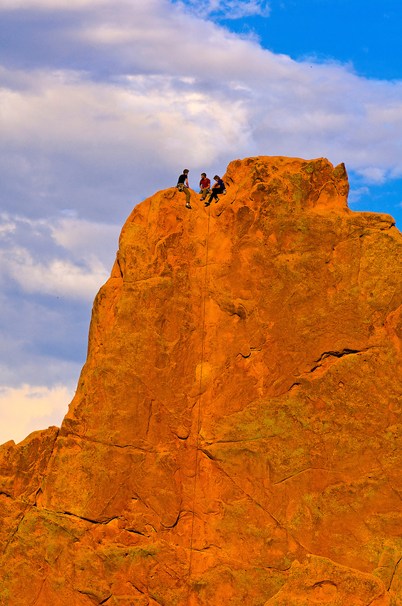 Rock Climbing Garden Of The Gods Colorado Springs Colorado Usa Blaine Harrington Iii