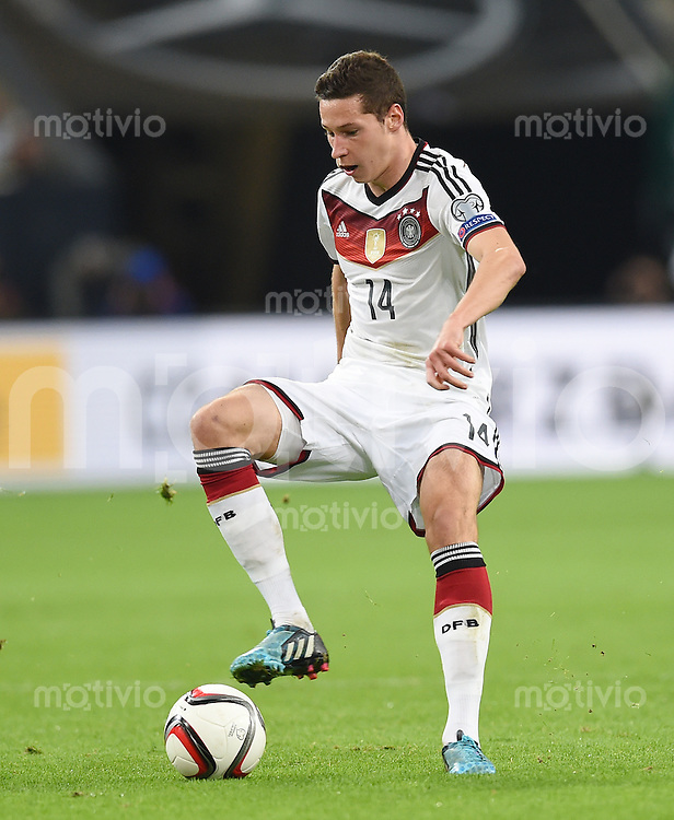 Fussball International EM 2016-Qualifikation  Gruppe D  in Gelsenkirchen 14.10.2014 Deutschland - Irland Julian Draxler (Deutschland)