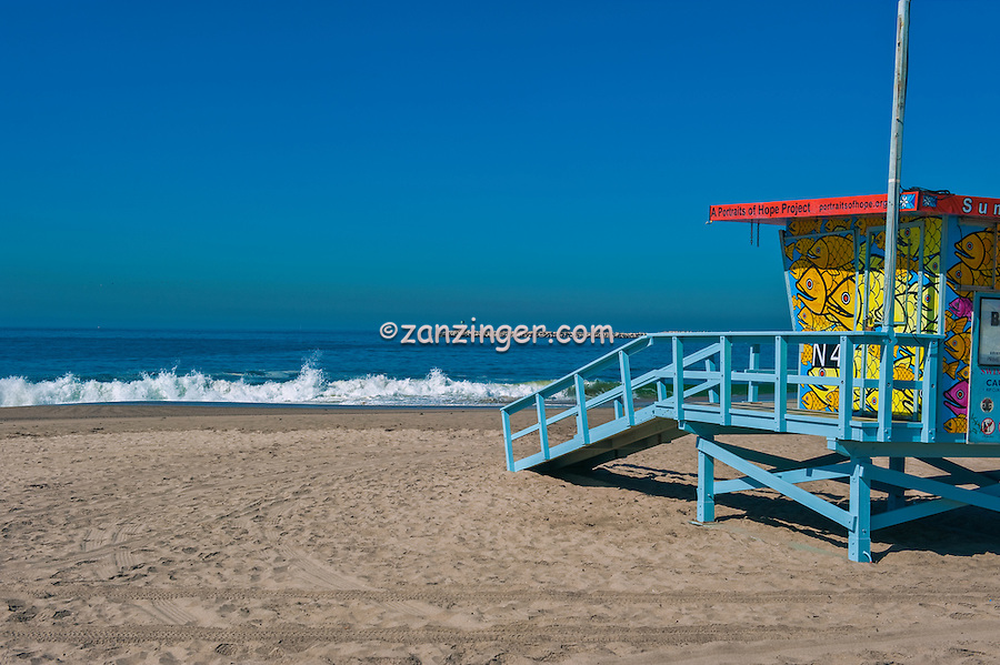Playa Del Rey, CA, N41, Lifeguard Station, SoCal Beach, Summer of Color, exhibit, Lifeguard, Towers, Portraits of Hope, Geometric, shapes,