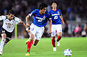 (R-L) Yuji Nakazawa (F Marinos), Popo (Vissel),..JULY 23, 2011 - Football :..2011 J.League Division 1 match between Yokohama F Marinos 1-0 Vissel Kobe at Nissan Stadium in Kanagawa, Japan. (Photo by AFLO)