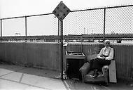 New York City, Harlem, April 1975. Street scene.