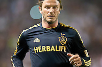 CARSON, CA – July 4, 2011: LA Galaxy midfielder David Beckham (23) during the match between LA Galaxy and Seattle Sounders FC at the Home Depot Center in Carson, California. Final score LA Galaxy 0, Seattle Sounders FC 0.