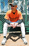 21 May 2007:  Baltimore Orioles pitcher Jamie Walker watches his teammates at Doubleday Field prior to Baseball's Annual Hall of Fame Game in Cooperstown, NY. The Orioles defeated the visiting Toronto Blue Jays 13-7...Mandatory Credit: Ed Wolfstein Photo