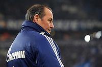 FUSSBALL   1. BUNDESLIGA   SAISON 2011/2012   20. SPIELTAG FC Schalke 04 - FSV Mainz 05                                  04.02.2012 Trainer Huub Stevens (FC Schalke 04)