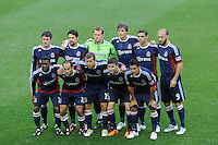 CD Chivas USA starting eleven prior to a Major League Soccer (MLS) match against the New York Red Bulls at Red Bull Arena in Harrison, NJ, on May 15, 2011.