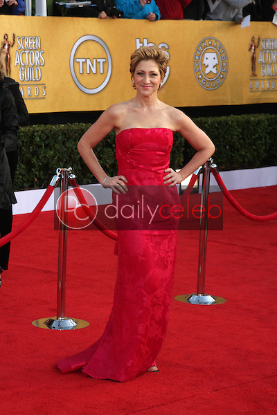 LOS ANGELES - JAN 30:  Edie Falco arrives at the 2011 Screen Actors Guild Awards  at Shrine Auditorium on January 30, 2011 in Los Angeles, CA