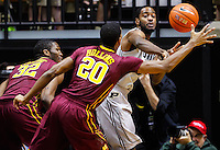 WEST LAFAYETTE, IN - MARCH 09: Rapheal Davis #35 of the Purdue Boilermakers passes the ball around Austin Hollins #20 of the Minnesota Golden Gophers at Mackey Arena on March 9, 2013 in West Lafayette, Indiana.  (Photo by Michael Hickey/Getty Images) *** Local Caption *** Rapheal Davis; Austin Hollins