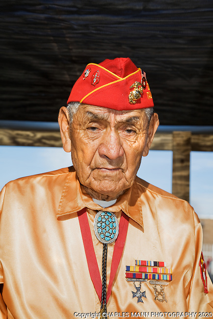 The Gallup 90th Intertribal Ceremonial features many different tribes participating in a number of events and ceremonies. George B. Willie Sr. was one of the Navajo Code Talkers taking part in the Morning Parade.