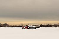 Potato Truck in the Snow<br /> Jamesport, Long Island