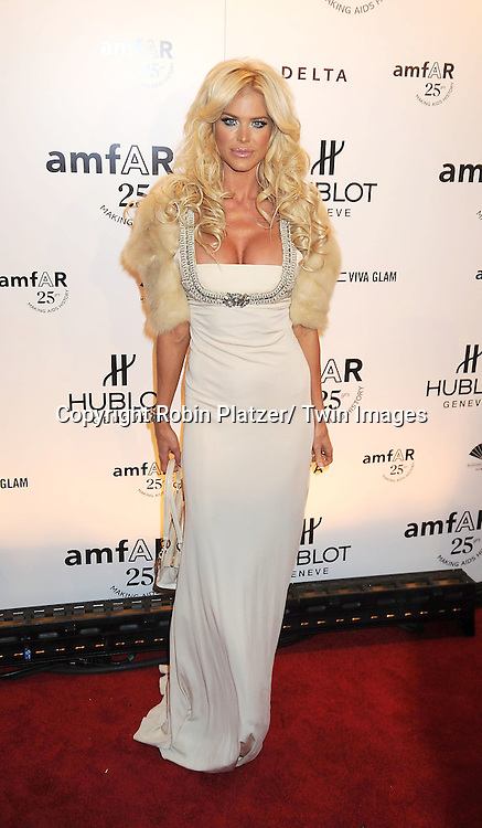 Victoria Silverstadt attending the amfAR New York Gala on February 9, 2011 at Cipriani Wall Street in New York City. Dame Elizabeth Taylor, President Bill Clinton and Diane von Furstenberg were honored.