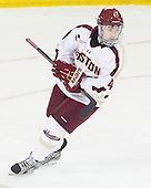 Teddy Doherty (BC - 4) - The Boston College Eagles defeated the visiting Boston University Terriers 5-2 on Saturday, December 1, 2012, at Kelley Rink in Conte Forum in Chestnut Hill, Massachusetts.