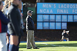 12 November 2016: UNC head coach Anson Dorrance. The University of North Carolina Tar Heels played the Liberty University Flames at Fetzer Field in Chapel Hill, North Carolina in a 2016 NCAA Division I Women's Soccer Tournament First Round match. UNC won the game 3-0