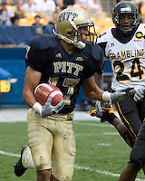 08 September 2007: Pitt defensive back Aaron Berry (17)..The Pitt Panthers defeated the Grambling State Tigers 34-10 on September 08, 2007 at Heinz Field, Pittsburgh, Pennsylvania.