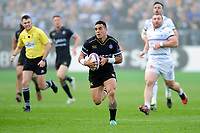 Kahn Fotuali'i of Bath Rugby goes on the attack. European Rugby Challenge Cup Quarter Final, between Bath Rugby and CA Brive on April 1, 2017 at the Recreation Ground in Bath, England. Photo by: Patrick Khachfe / Onside Images