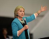 OCT 02 Hillary Clinton speaks at Broward Collage