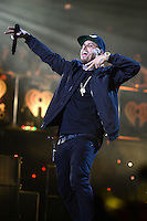 MIAMI, FL - NOVEMBER 5: Nicky Jam at iHeartRadio Fiesta Latina 2016 at The American Airlines Arena on November 5, 2016. Credit: mpi04/MediaPunch