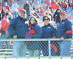 Ole Miss vs. Arkansas at War Memorial Stadium in Little Rock, Ark. on Saturday, October 27, 2012. Ole Miss won 30-27...