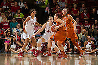 Stanford, CA, November 20, 2014<br /> Stanford Women's Basketball vs Texas at Maples Pavilion.