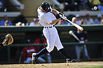 5 March 2009: Detroit Tigers' infielder Scott Sizemore in action during a Spring Training game against the Washington Nationals at Joker Marchant Stadium in Lakeland, Florida. The Tigers defeated the visiting Nationals 10-2 in the Grapefruit League matchup. Mandatory Photo Credit: Ed Wolfstein Photo