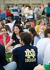 Aug. 27, 2013; 2013 Opening picnic<br /> <br /> Photo by Matt Cashore/University of Notre Dame