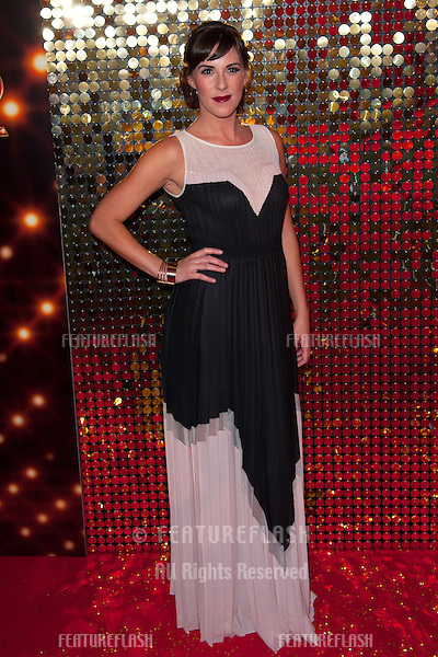 Verity Rushworth arriving for the 2014 British Soap Awards, at the Hackney Empire, London. 24/05/2014 Picture by: Dave Norton / Featureflash