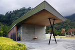 Photo shows the exterior atelier where visitors can try their hand at making pots inside the grounds of the Shimane Museum  of Ancient Izumo in Izumo City, Shimane Prefecture , Japan on 05 Nov. 2012.  Photographer: Robert Gilhooly