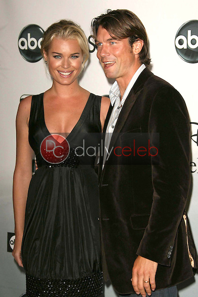 Rebecca Romijn and Jerry O'Connell<br />at the 2007 ABC All Star Party. Beverly Hilton Hotel, Beverly Hills, CA. 07-26-07<br />Dave Edwards/DailyCeleb.com 818-249-4998