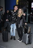 NEW YORK, NY November 23: Gleb Savchenko, Jane Kramer winner of Dancing with Stars 2016 at Good Morning America in New York City.November 23, 2016. Credit:RW/MediaPunch