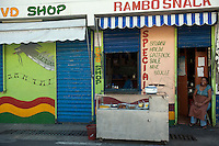 Rambo Snack. Port Louis.