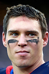 4 November 2007: Buffalo Bills safety Jim Leonhard takes a break on the sidelines during a game against the Cincinnati Bengals at Ralph Wilson Stadium in Orchard Park, NY. The Bills defeated the Bengals 33-21 in front of a sellout crowd of 70,745...Mandatory Photo Credit: Ed Wolfstein Photo